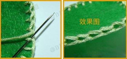 Как шить петельным швом