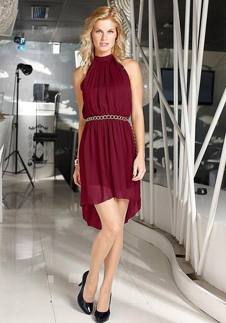Платье с асимметричным низом - тренд сезона!