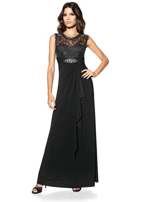 Вечернее платье с юбкой с эффектом запаха