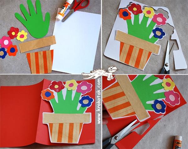 Детские открытки маме