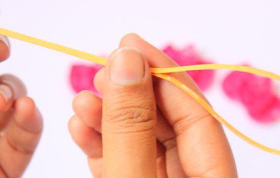 Стебель тюльпана из бумаги
