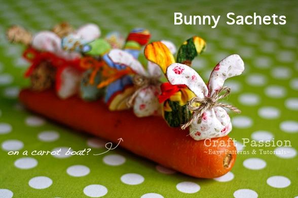 Кролики в виде саше