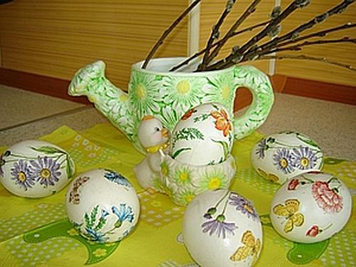 Поделки пасхальные яйца своими руками