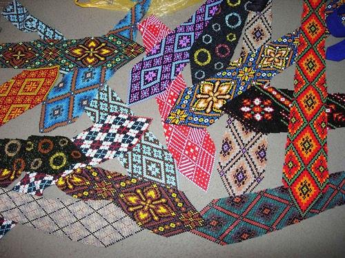 Схемы плетения именных и