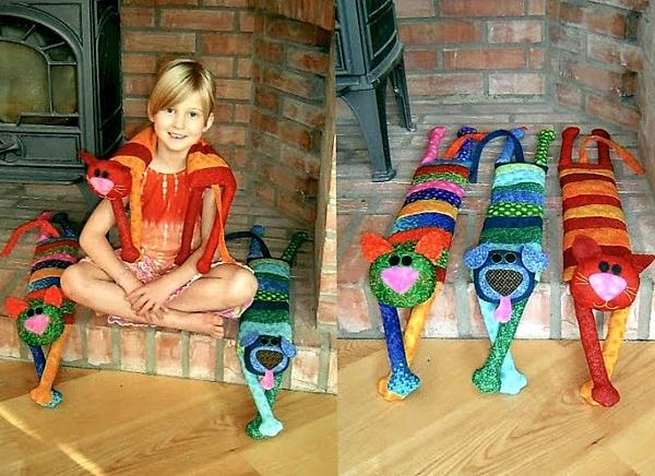 Антистрессовые подушки-игрушки