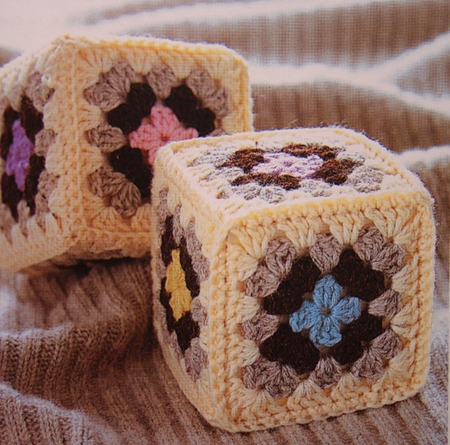 Кубики бабушкин квадрат