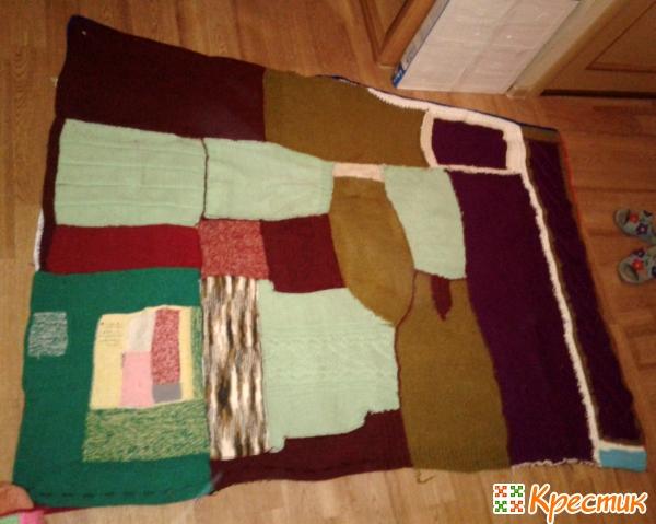 Оборотная сторона одеяла