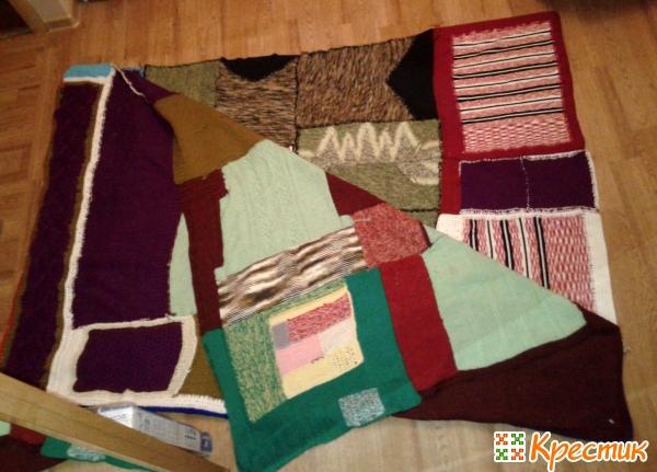 Пэчворк для начинающих одеяло