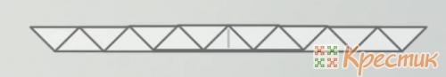 Треугольная гармошка