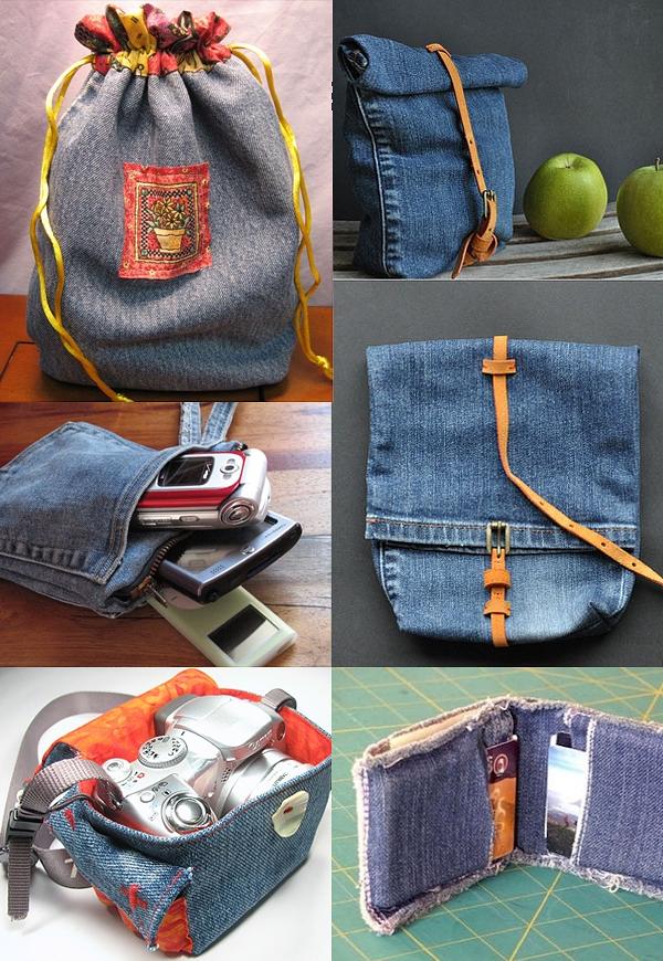 Что можно сделать из старых джинсов своими руками: 50 идей, Крестик