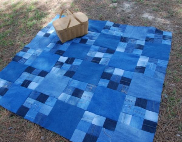 Шьём коврик для пикника