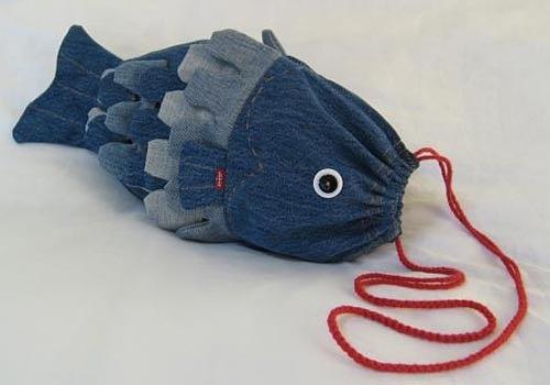 Сумка-рыбка для ребёнка