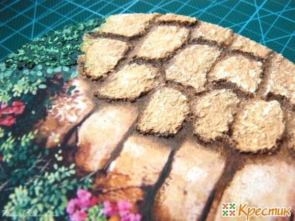 Эффект объемных камней