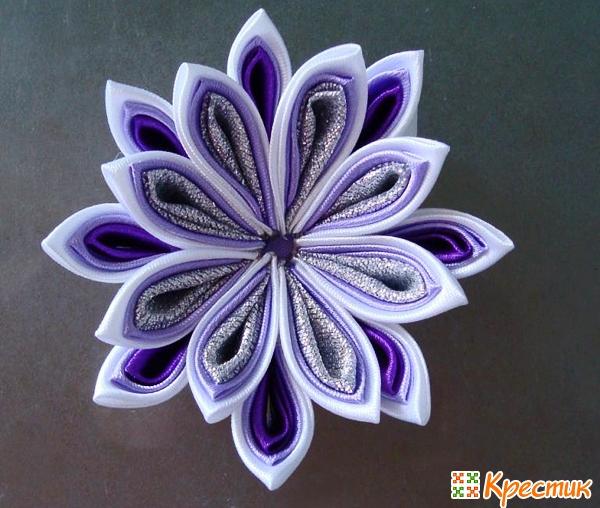 Цветы Канзаши своими руками