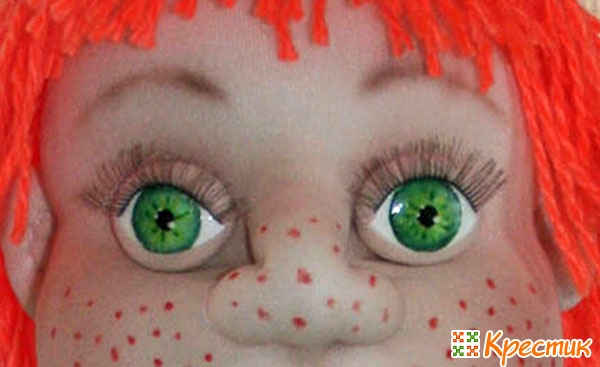 глаза для кукол из капрона