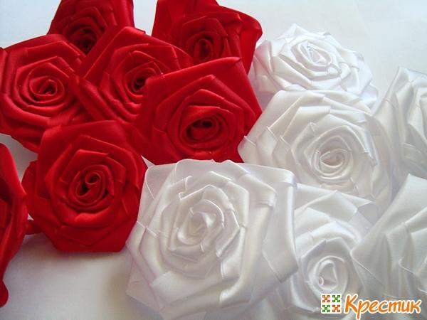 Готовые розы для букета