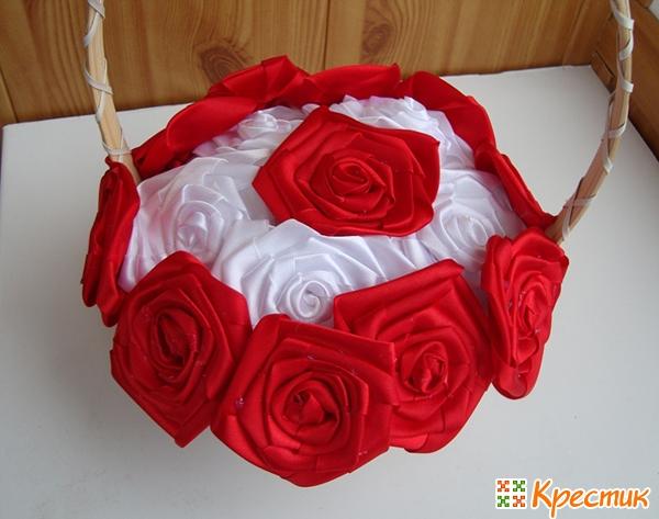 Второй круг из роз