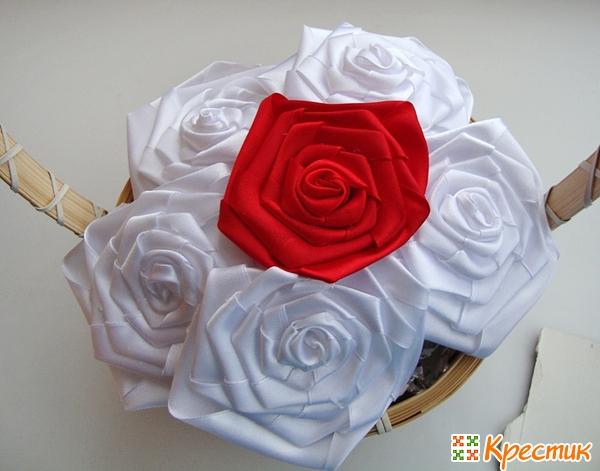 Заполняем корзину розами