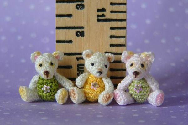 Мишки амигурушки 1 см