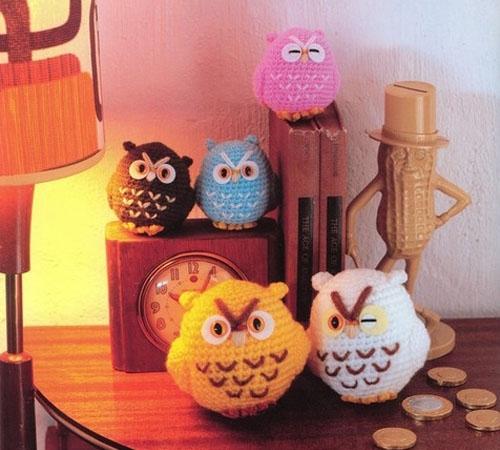 Вязаные игрушки амигуруми