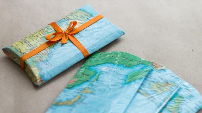 Упаковка из подарочной бумаги своими руками 61