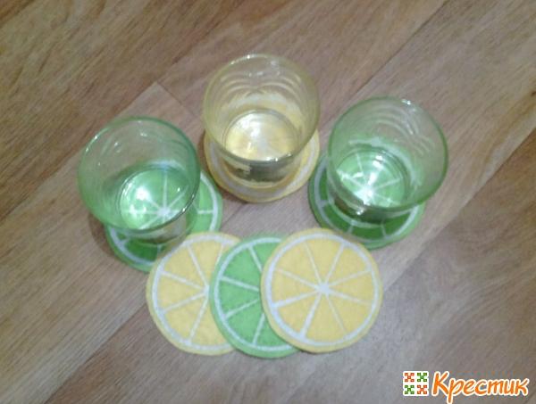 15- Подставка под стаканы