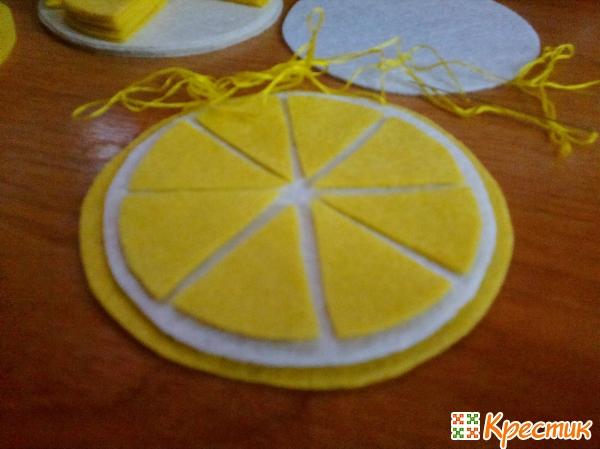 6- Лимонная подставка