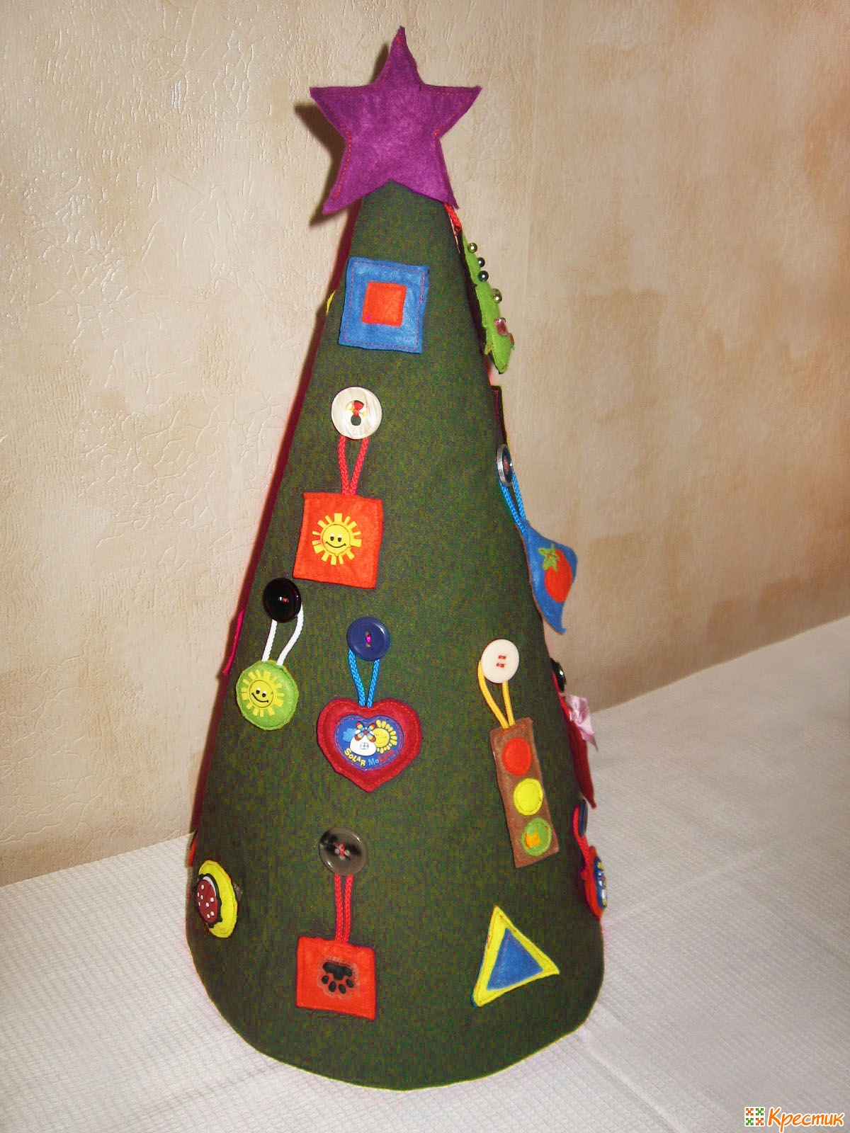 Новогодняя игрушка ёлочка своими руками фото 110