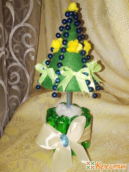 Мастер-класс новогодней елки