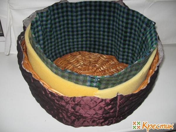 Два кольца из ткани