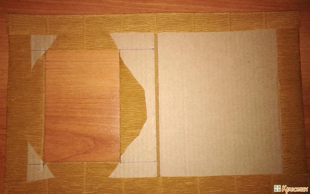 Как сделать из плотного картона 120