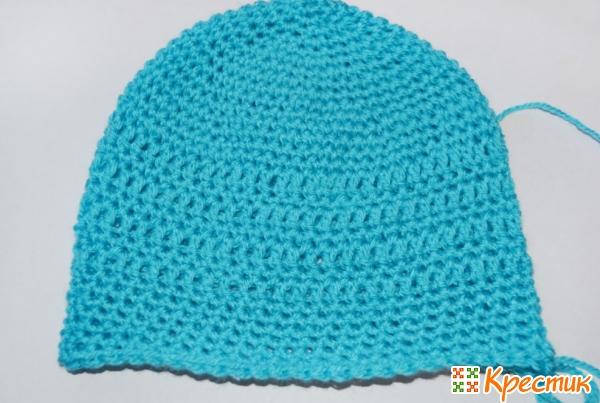 Вяжем шапочку в длину