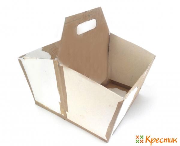 Склеенная основа коробки