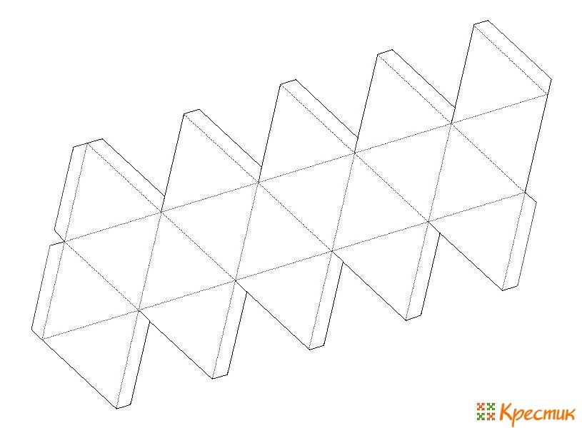 Схема коробочки