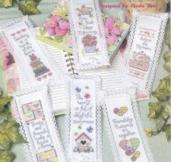 Закладки для книг от Линды Бёрд