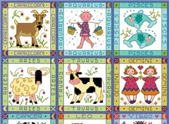Детские знаки Зодиака