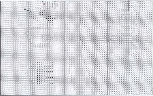 Схема для вышивки крестом позитивных корабликов