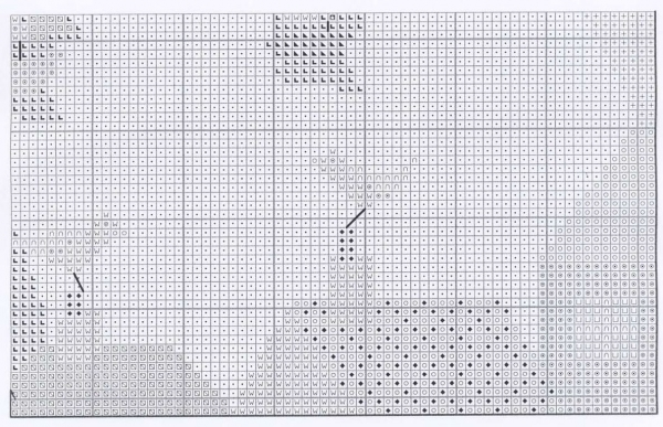 Схема для вышивки прогулки по волнам позитива