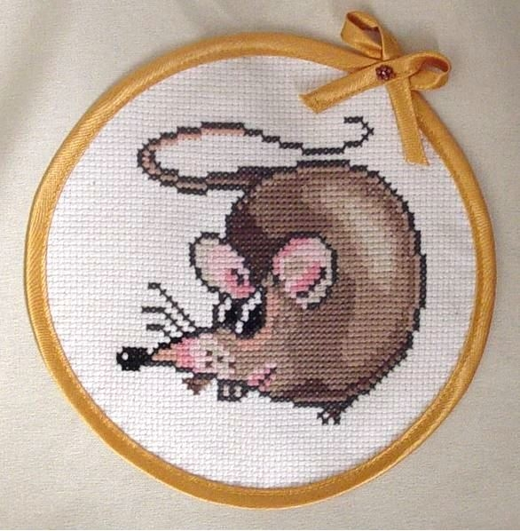 Очаровательная крыска