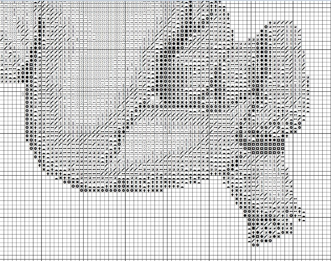 метрика аистом схема вышивки