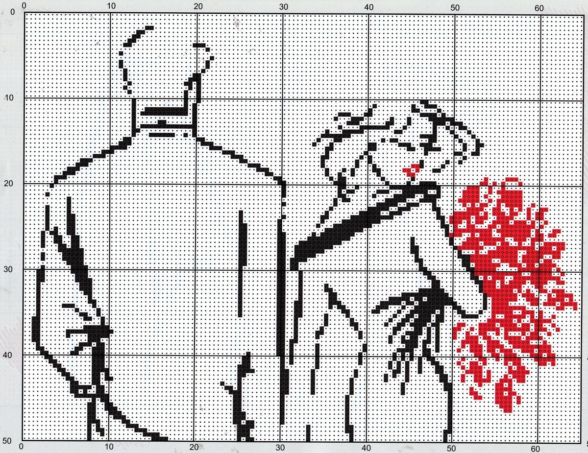 Крест ру схема вышивки схемы фото 683