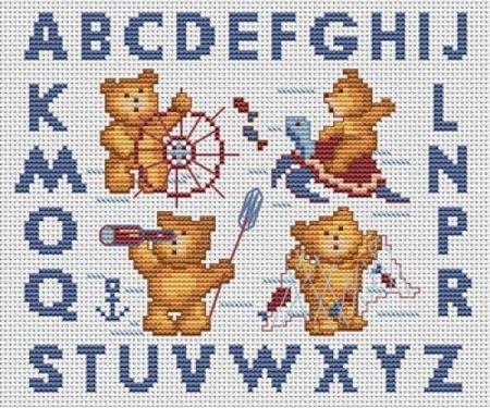 Алфавит с медведями
