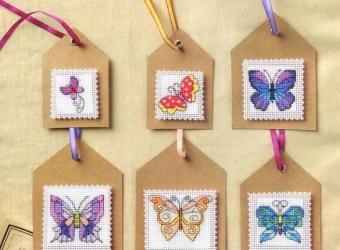 Бабочки-мини