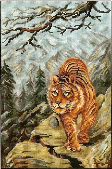 Тигр на прогулке