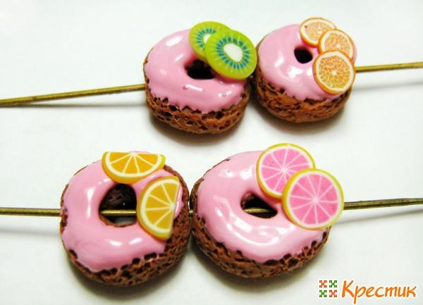 Мастер класс пончиков бусин
