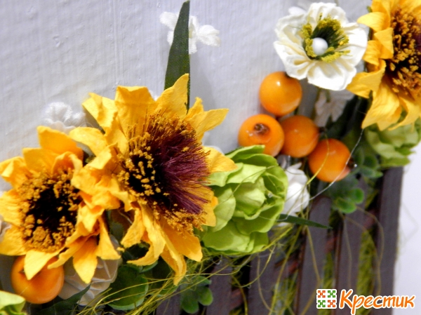 Формируем цветочную композицию