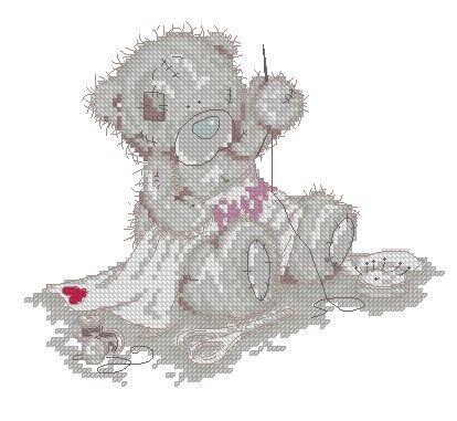 Тедди вышивальщик