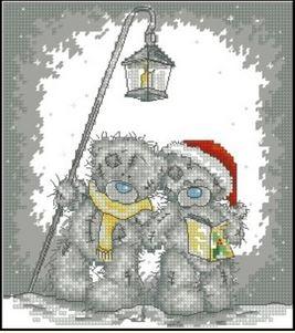 Мишки Тедди с фонариком
