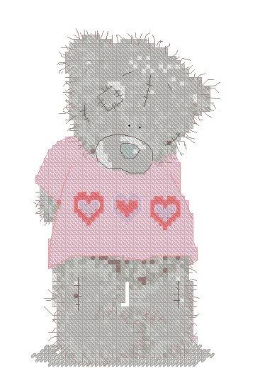 Влюбленный мишка Тедди