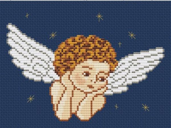 Ангел на небе